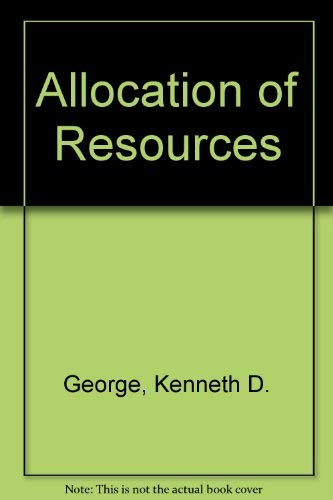 9780043000731: Allocation of Resources