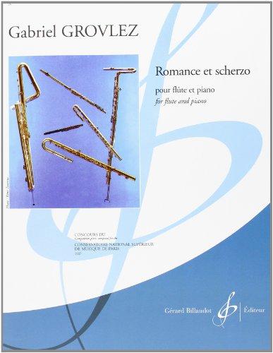 Romance Et Scherzo pour Flûte et Piano: GROVLEZ