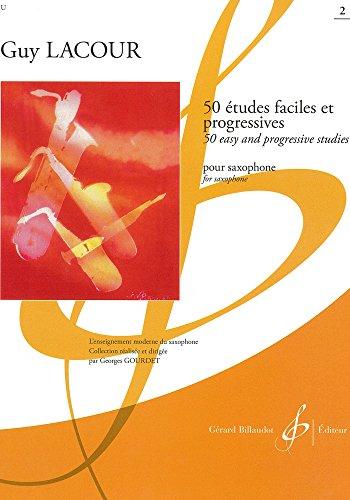 9780043006092: 50 Études Faciles et Progressives Volume 2 - Saxophone