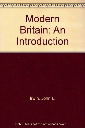 9780043010792: Modern Britain: An Introduction