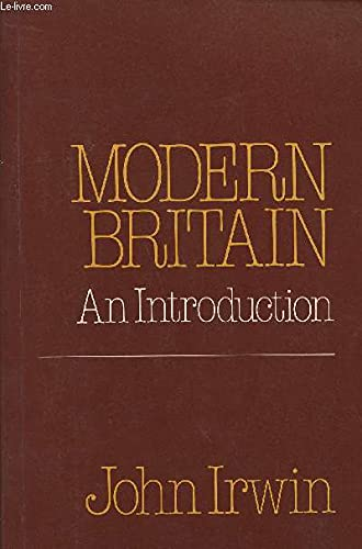 9780043010808: Modern Britain: An Introduction