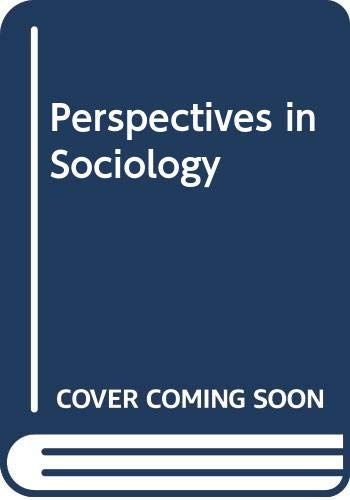 9780043010914: Perspectives in Sociology