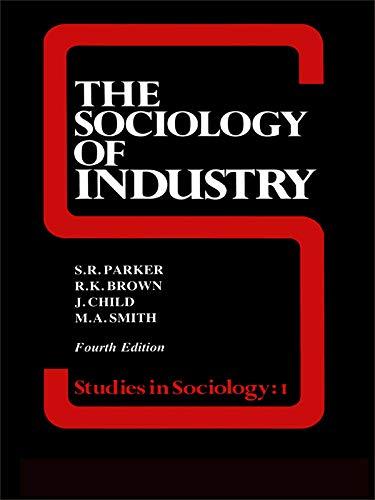 9780043011294: The Sociology of Industry (Studies in Sociology)