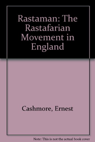 9780043011645: Rastaman: Rastafarian Movement in England