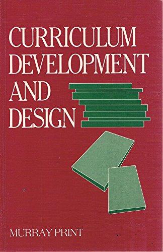 9780043012901: Curriculum Development and Design