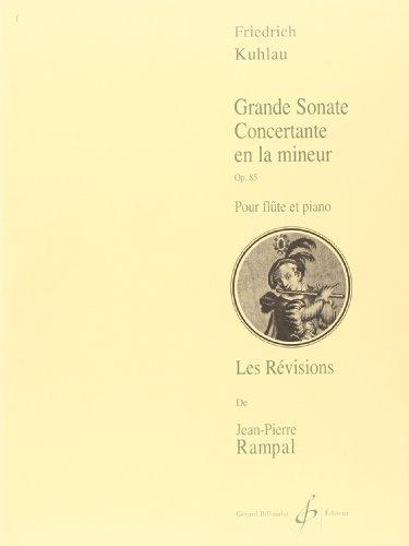 9780043013502: Grande Sonate Concertante en la Mineur Opus 85