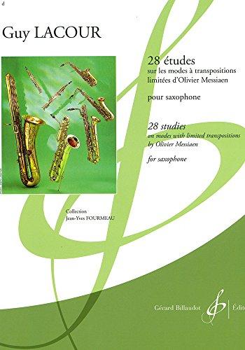 9780043015025: 28 Études Sur les Modes a Transpositions Limitees d'O. Messiaen
