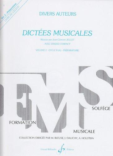 9780043050620: Dictées Musicales Volume 2 - Eleve
