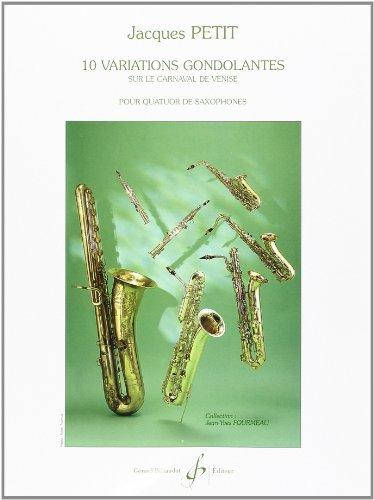 9780043072240: 10 Variations Gondolantes Sur le Carnaval de Venise