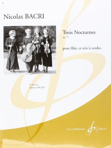 9780043073841: Trois Nocturnes Opus 79