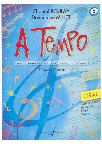 9780043074756: A Tempo - Partie Orale - Volume 2