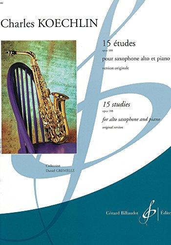 9780043078105: 15 Études Opus 188