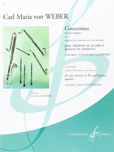 9780043078457: Concertino en Mi B Majeur Opus 26