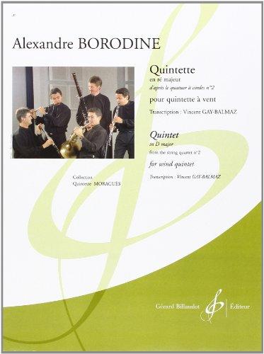 9780043080443: Quintette en Re Majeur d'Apres le Quatuor a Cordes N 2