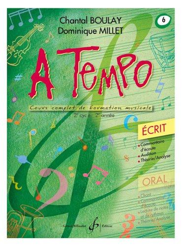 9780043083673: A Tempo - Partie Ecrite - Volume 6