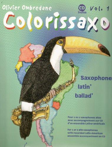 9780043089064: Colorissaxo Vol. 1 + CD