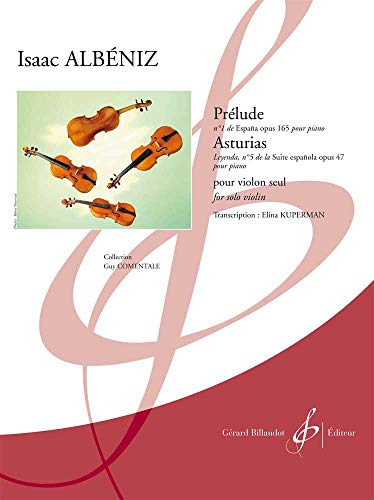 Prelude/Asturias (for Violin): Isaac Albeniz