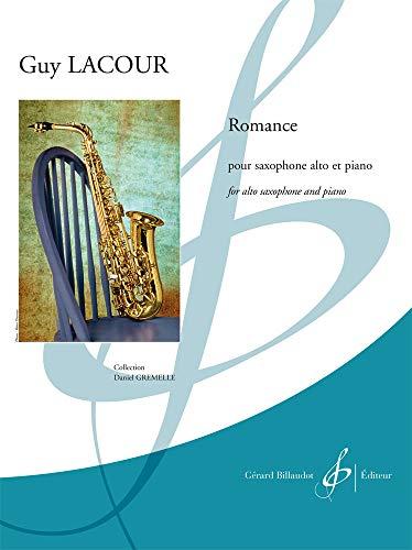9780043091920: Partition classique BILLAUDOT LACOUR GUY - ROMANCE - SAXOPHONE ET PIANO Saxophone