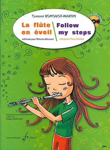 9780043092903: Follow my steps a beginner Flute Method + CD (French and English)