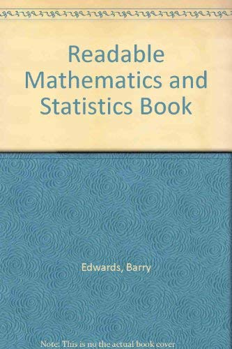 9780043100080: Readable Mathematics and Statistics Book