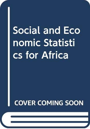 SOCIAL AND ECONOMIC STATISTICS FOR AFRICA: G.M.K. KPEDEKPO, P.L.