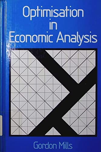 9780043110010: Optimization in Economic Analysis