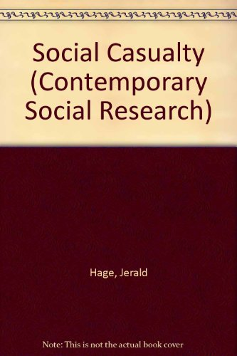 9780043120293: Social Causality (Contemporary Social Research Series)