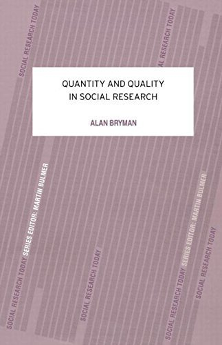 9780043120408: Quantity and Quality in Social Research (Contemporary Social Research)