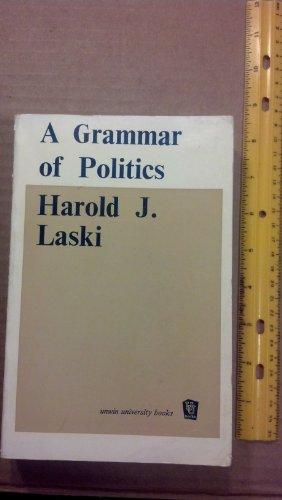 9780043200186: A Grammar of Politics