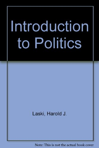9780043200193: Introduction to Politics