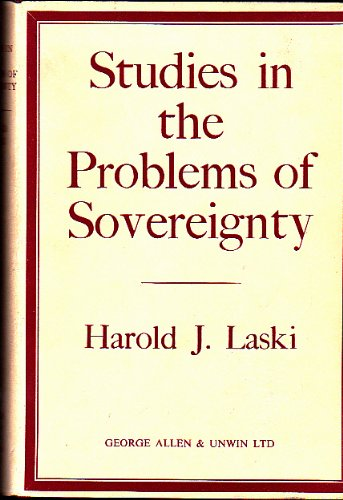 9780043200544: Studies in the problem of Sovereignty