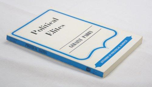 9780043200599: Political Elites (Unwin University Books)
