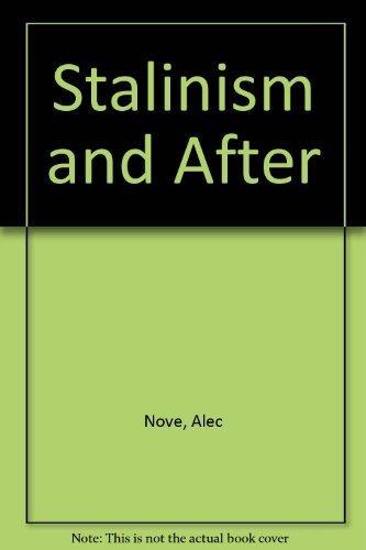 Alec nove an economic history of the ussr