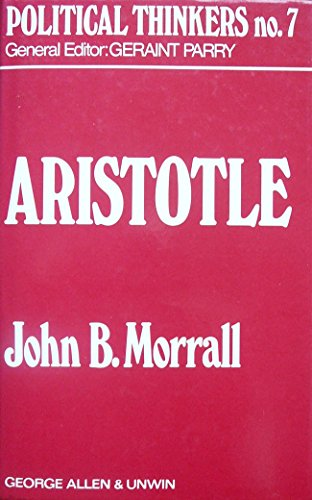 9780043201213: Aristotle (Political Thinkers)