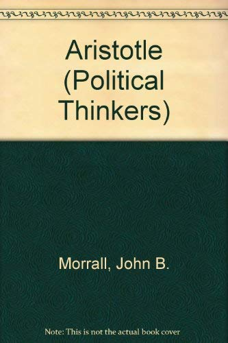 9780043201220: Aristotle (Political Thinkers)