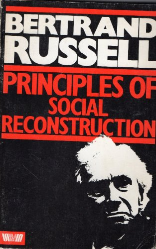 9780043201374: Principles of Social Reconstruction