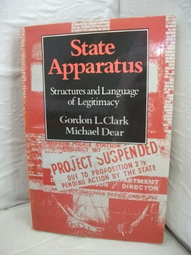 9780043201602: State apparatus : structures and language of legitimacy