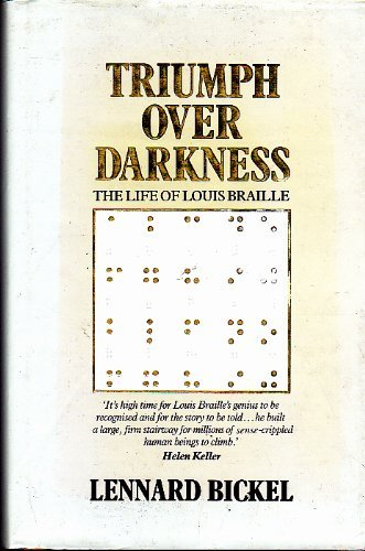 9780043202128: Triumph Over Darkness: The Life of Louis Braille