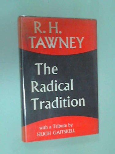 9780043210109: Radical Tradition