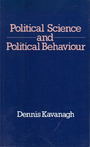 9780043220092: Political Science and Political Behaviour