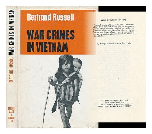 9780043270165: War Crimes in Vietnam