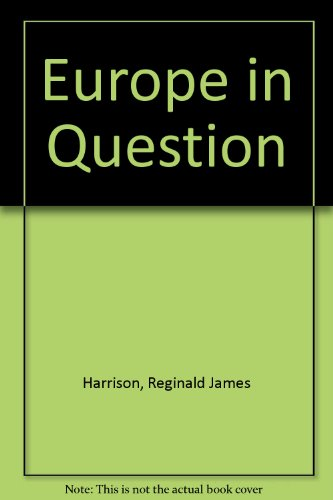 9780043270455: Europe in Question