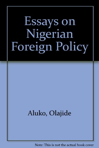 9780043270639: Essays on Nigerian Foreign Policy