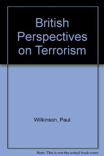 9780043270653: British Perspectives on Terrorism