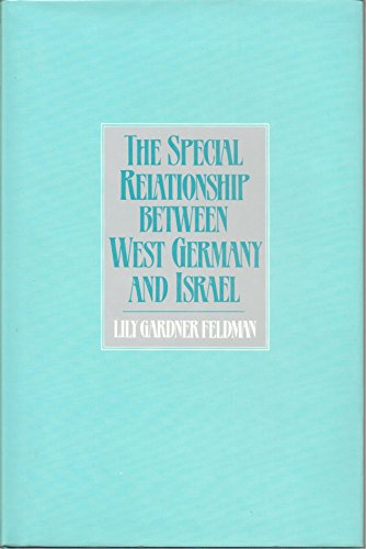 9780043270684: Special Relationship Between West Germany and Israel
