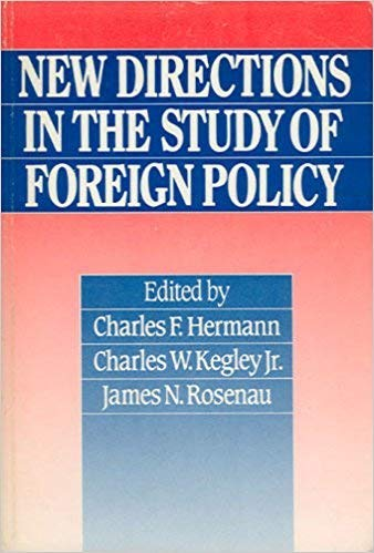 9780043270943: New Directions in the Study of Foreign Policy