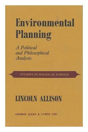 9780043290217: Environmental Planning (Studies in political science ; 9)