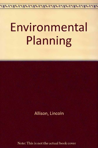 9780043290224: Environmental Planning (Studies in political science ; 9)