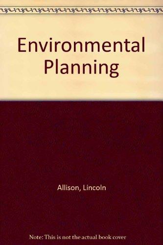 9780043290224: Environmental Planning (Studies in political science ; 9)