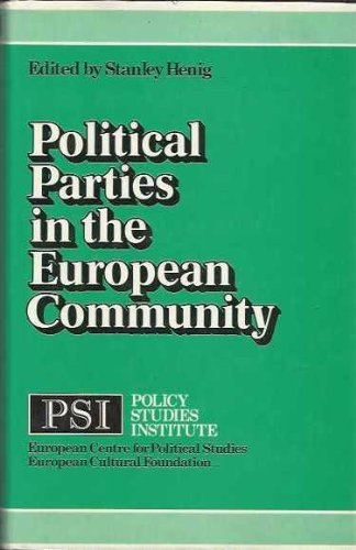9780043290248: Political Parties in the European Community